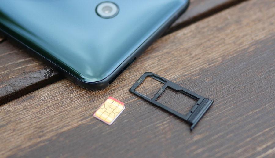 Мой HTC U11 имеет поддержку только одной SIM-карты (версия для США)