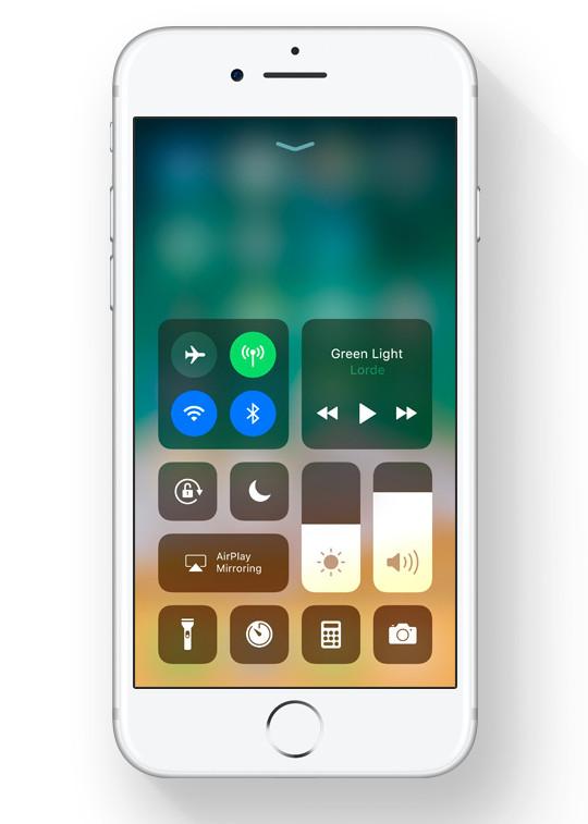 Центр уведомлений iOS 11