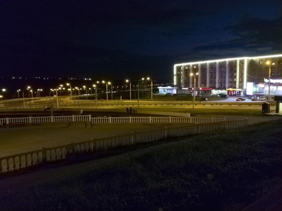 HTC U11 - ночная съёмка (из RAW 2)