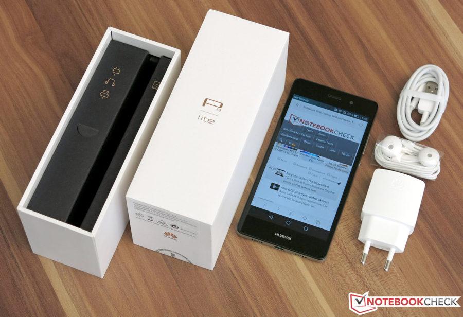 Комплектация Huawei P8 Lite и распаковка