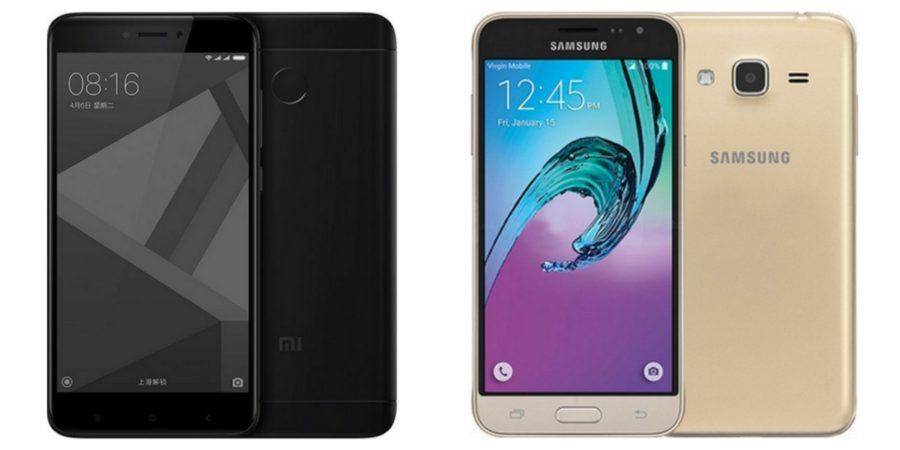 Xiaomi Redmi 4X vs Samsung Galaxy J3 (2016)