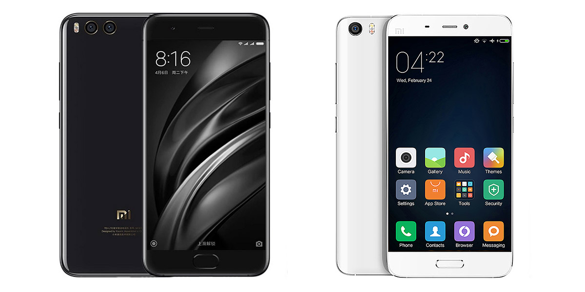 Xiaomi Mi5 and Xiaomi Mi6 Coupon