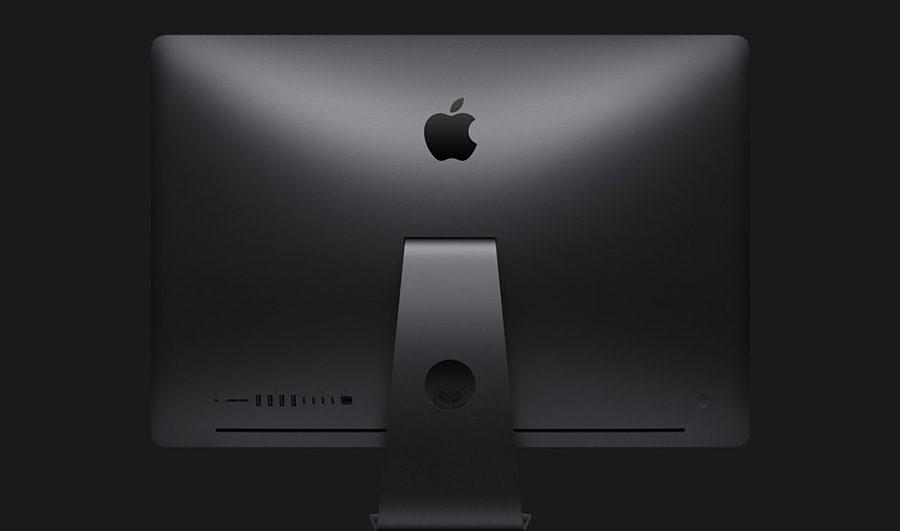 iMac Pro вид сзади