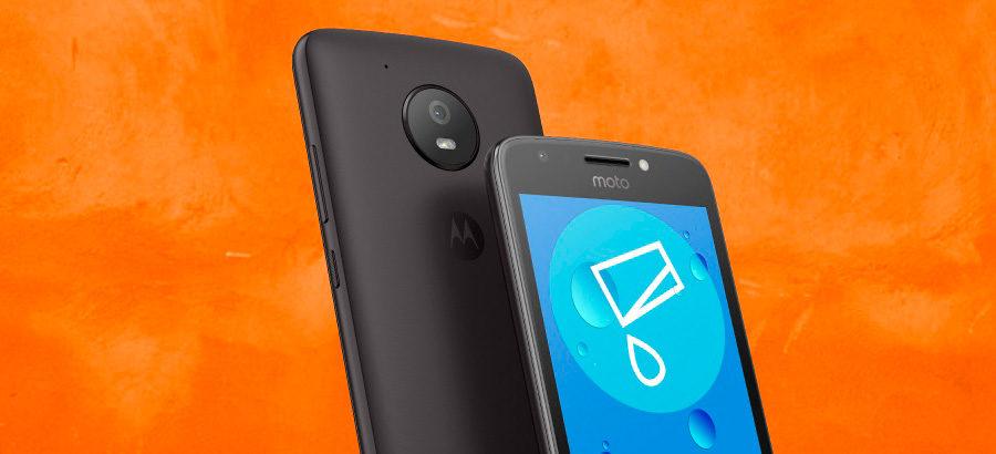 Motorola Moto E4 цена