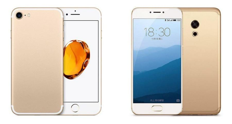 iPhone 7 vs Meizu MX6