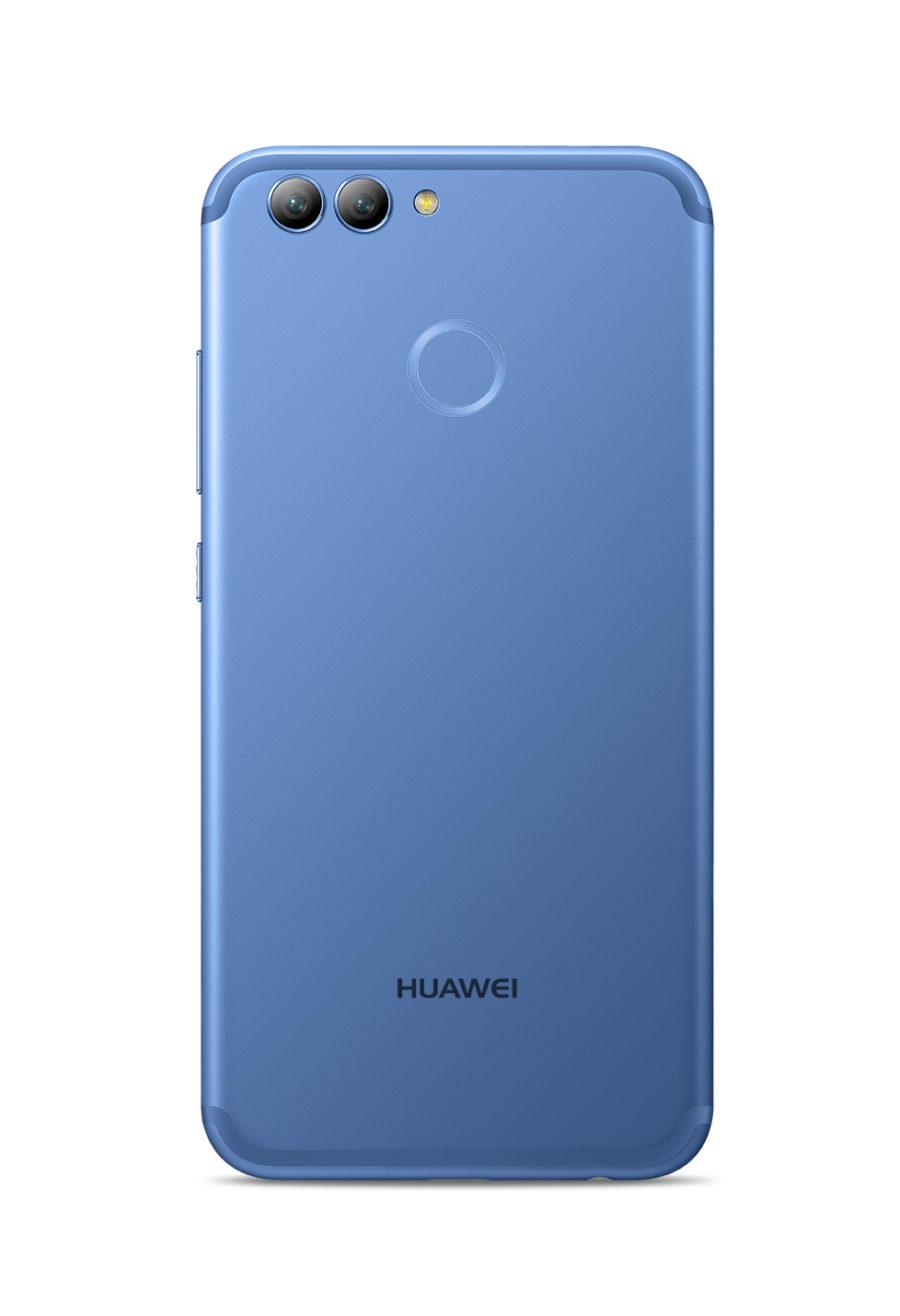 Ярко-голубой Huawei nova 2