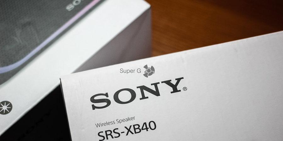 Комплект Sony SRS-XB40