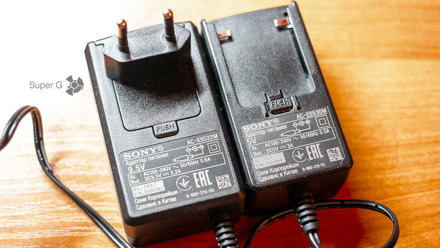 Зарядка Sony SRS-XB30 и SRS-XB40