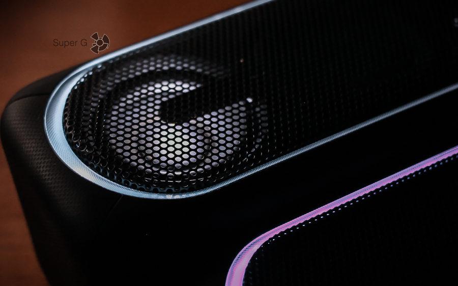 Регулирование подсветки Sony SRS-XB30 и SRS-XB40