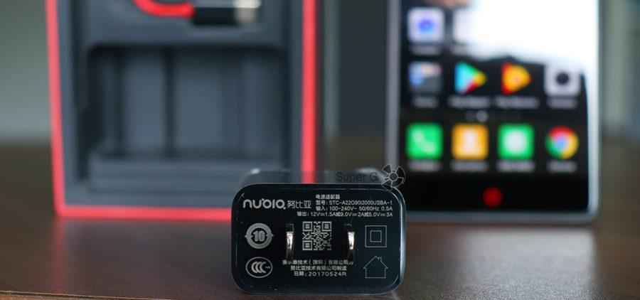 Блок питания от смартфона Nubia Z17