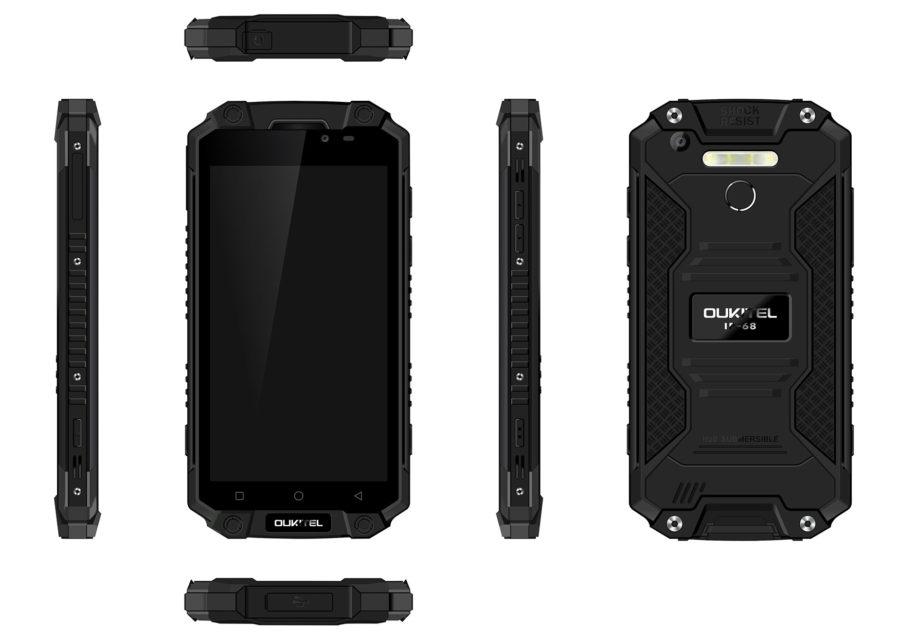 Смартфон Oukitel K10000 Max будет продаваться в полностью черном цвете