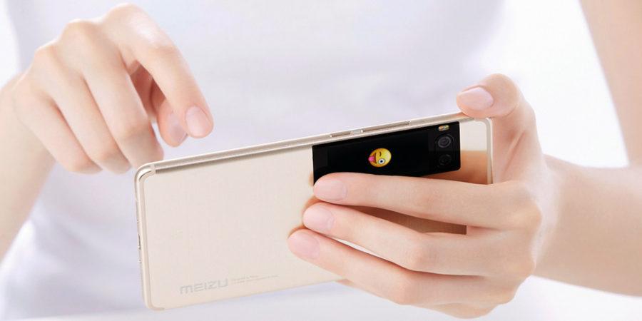 Meizu Pro 7 и Pro 7 Plus - второй экран