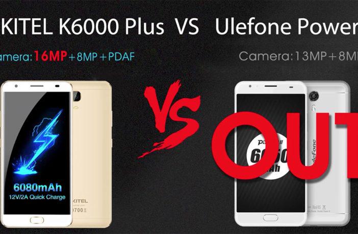 Oukitel K6000 Plus vs Ulefone Power 2 - кто кого
