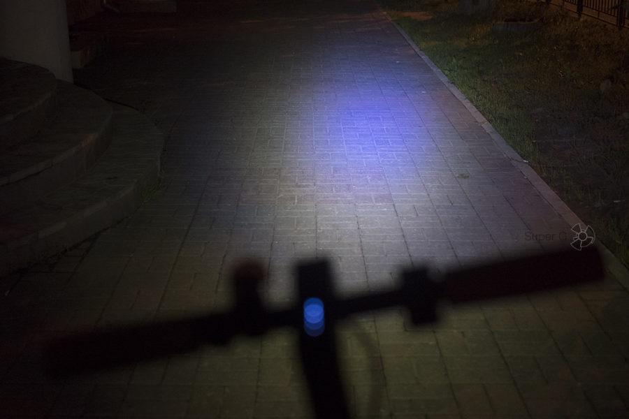 Дальность фонаря самоката Xiaomi Mijia M365