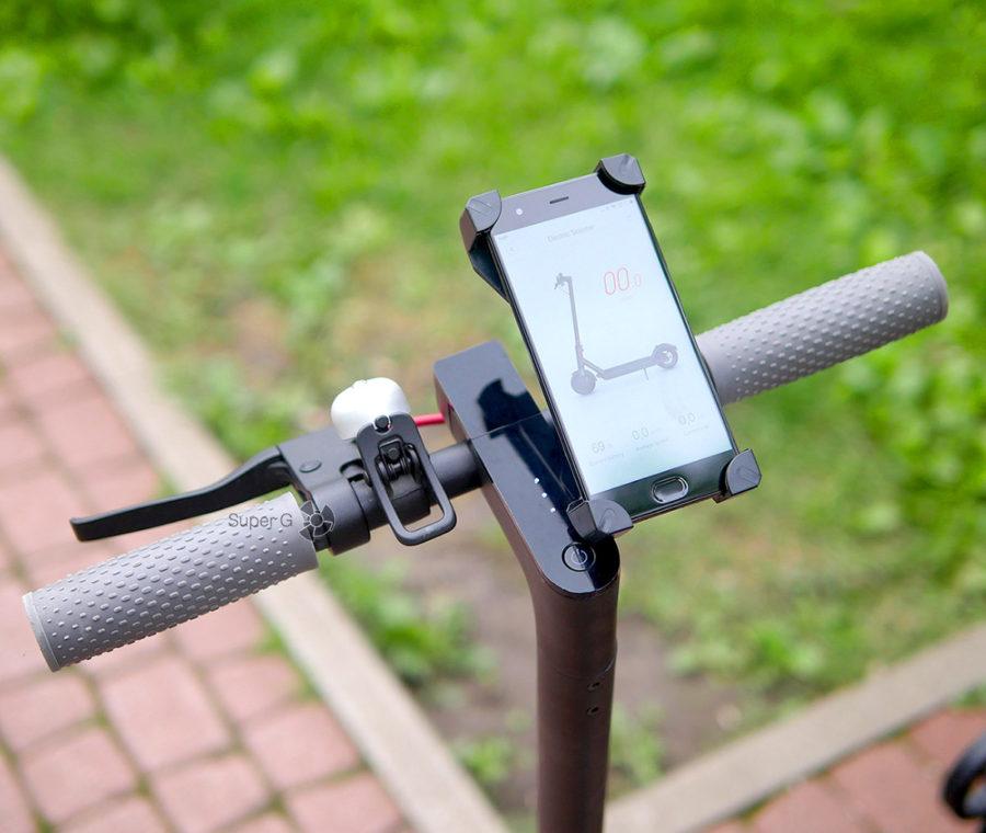 Держатель для телефона руль самоката Xiaomi Mijia M365