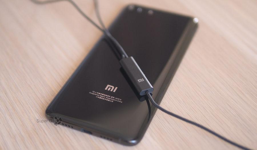 Пультик управления воспроизведением от Xiaomi Mi ANC & Type-C In-Ear Earphones