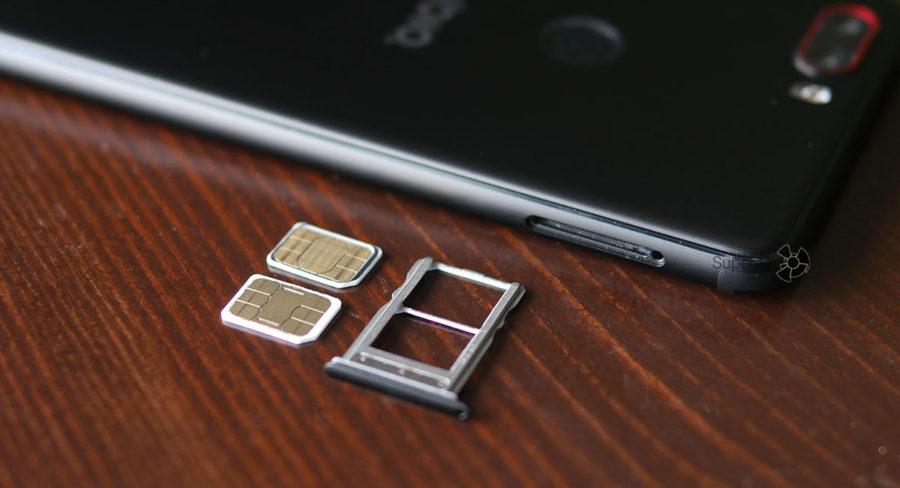 Лоток под SIM-карты (две Nano) Nubia Z17