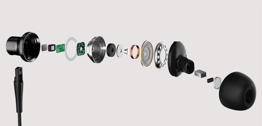 Конструкция и ремонт Xiaomi Mi ANC & Type-C In-Ear Earphones