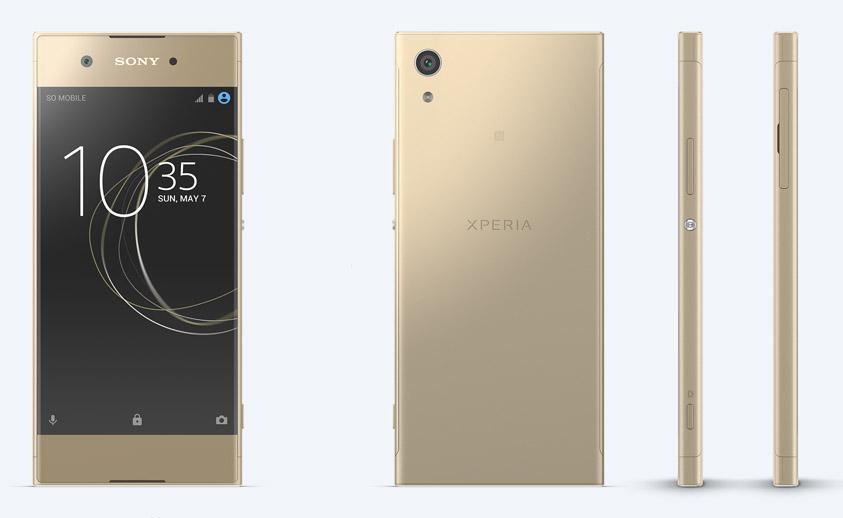 Sony Xperia XA1 золотой