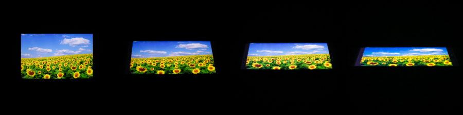Углы обзора Sony Xperia XA1