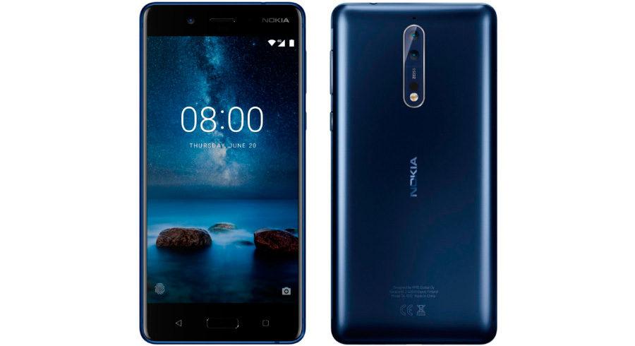 Nokia 8 официальное изображение