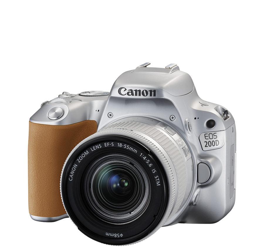 Canon 200D серебристый