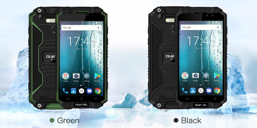Oukitel K10000 Max цвета смартфона