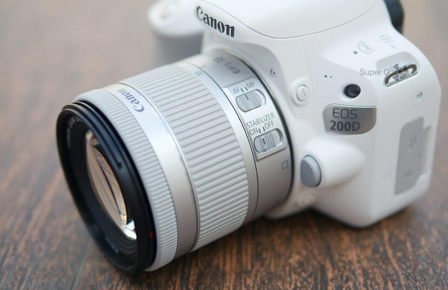 Переключение стабилизатора и ручной фокусировки на объективе EF-S 18-55mm f/4-5.6 IS STM