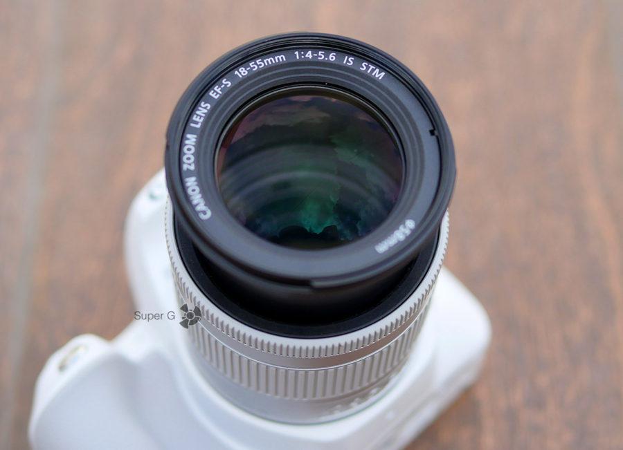 Объектив EF-S 18-55mm f/4-5.6 IS STM (максимальное увеличение)
