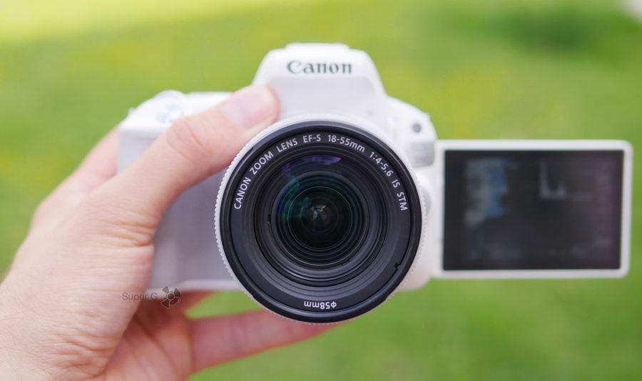 Съёмка на камеру Canon 200D с объективом EF-S 18-55mm f/4-5.6 IS STM