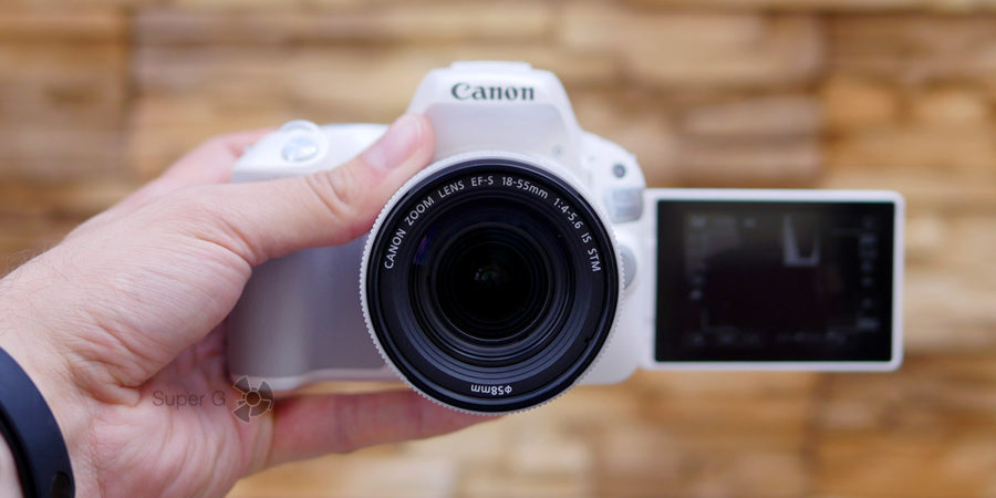 Съёмка на Canon 200D