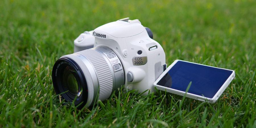 Тестирование камеры Canon 200D