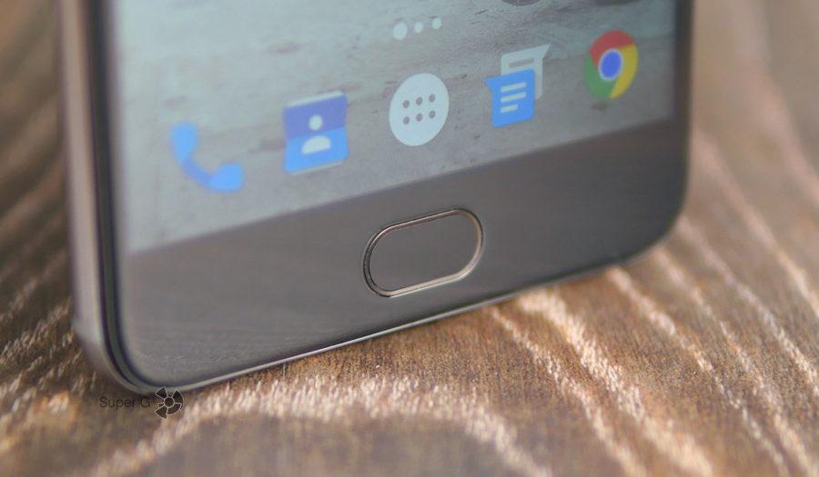 Сканер отпечатков пальцев и кнопка домой в UMIDIGI Z1
