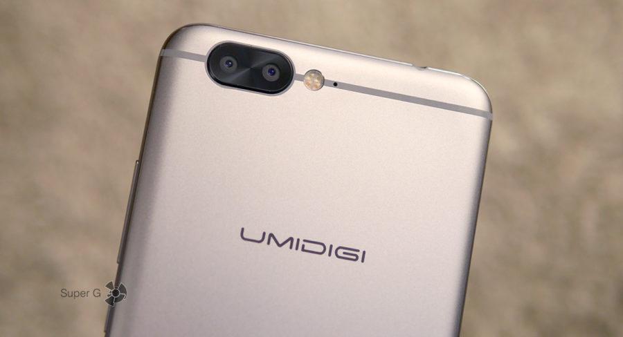 UMIDIGI Z1 имеет две задние камеры