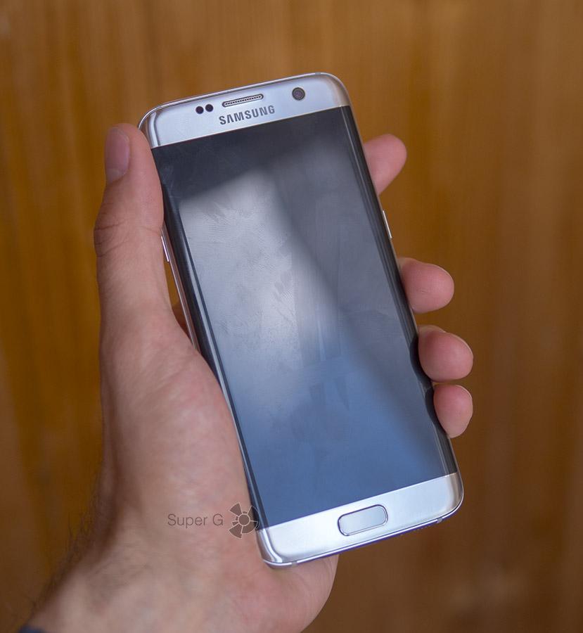 Олеофобное покрытие Samsung Galaxy S7 Edge стирается через три недели