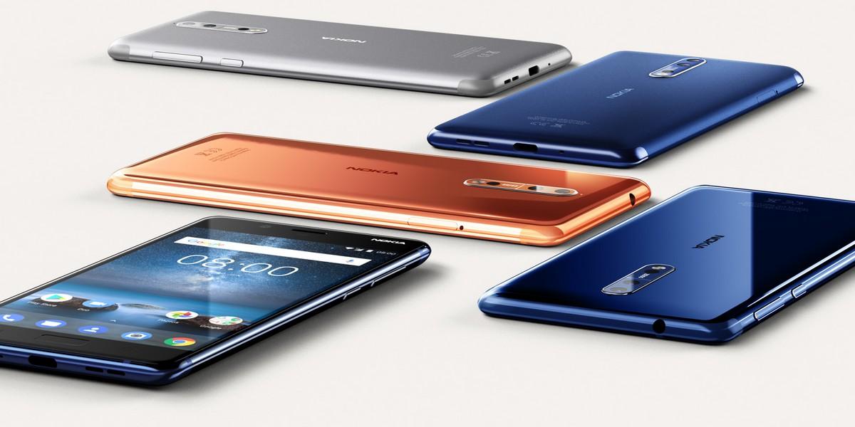 Nokia 8 — обычный флагман второго эшелона