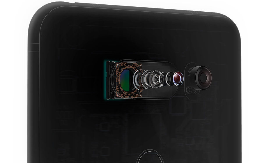 LG V30 камера