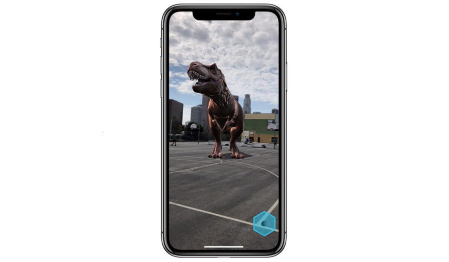 Дополненная реальность на iPhone X и iPhone 8