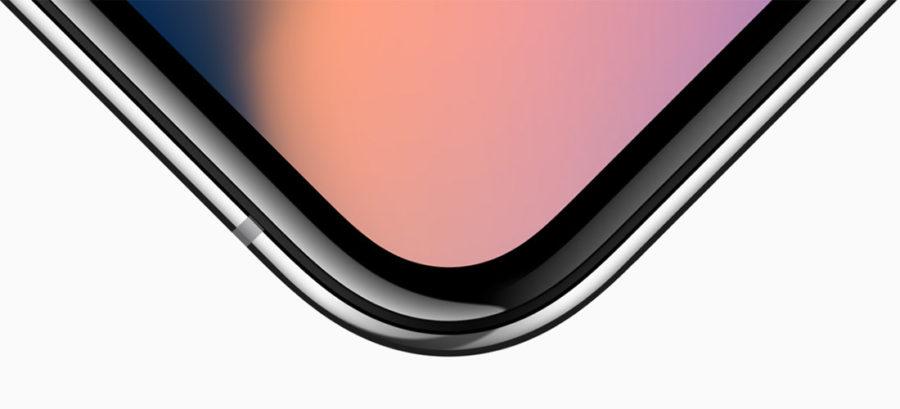 Идеально плавное закругление углов дисплея в iPhone X