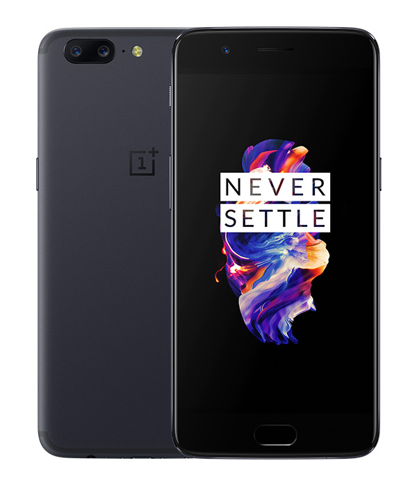 OnePlus 5 темно-серый