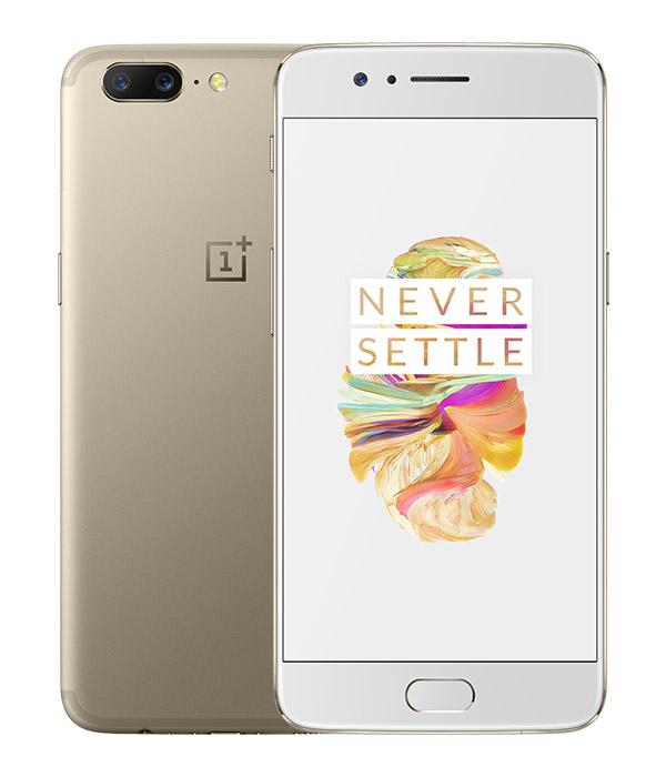OnePlus 5 золотой цвет
