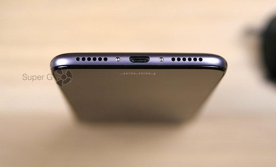 Honor 6A оснащен Micro USB разъёмом