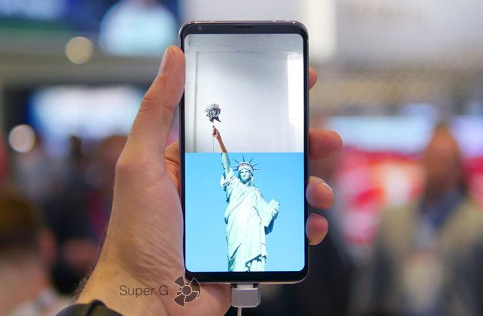 Краткий обзор смартфона LG V30
