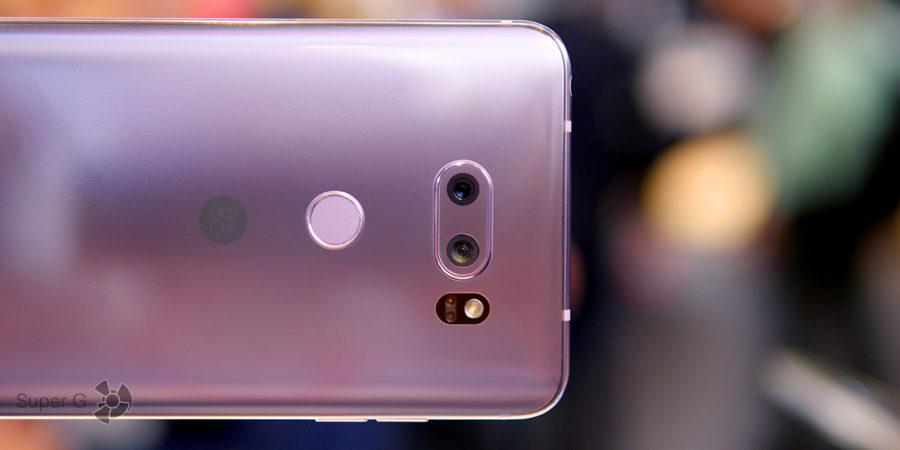 Тест камер LG V30