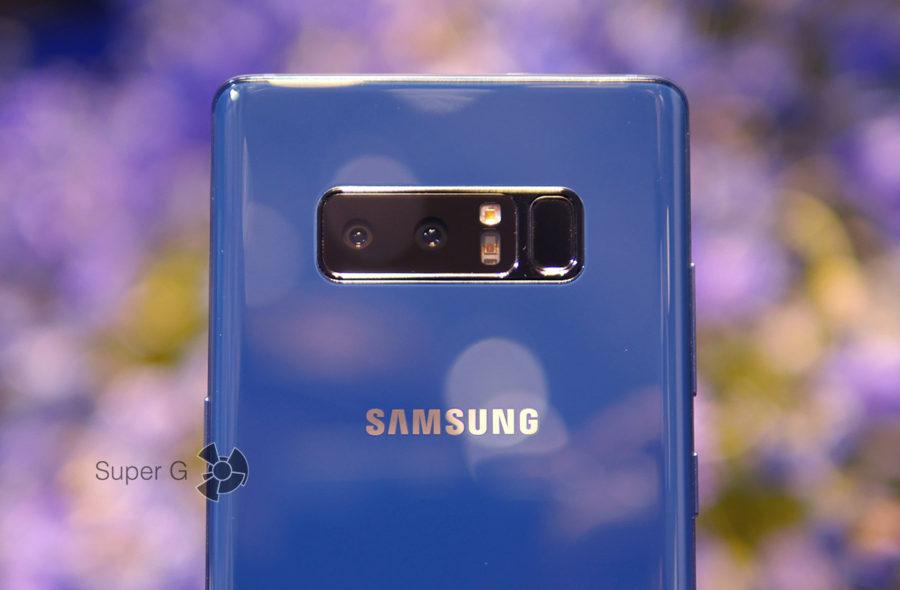 Две задние камеры Samsung Galaxy Note 8 - примеры снимков