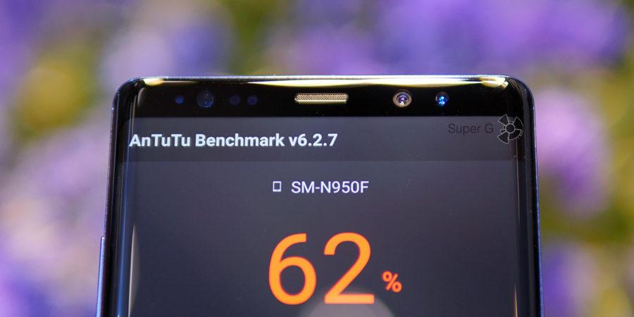 Фронтальная камера Samsung Galaxy Note 8 и миллион датчиков