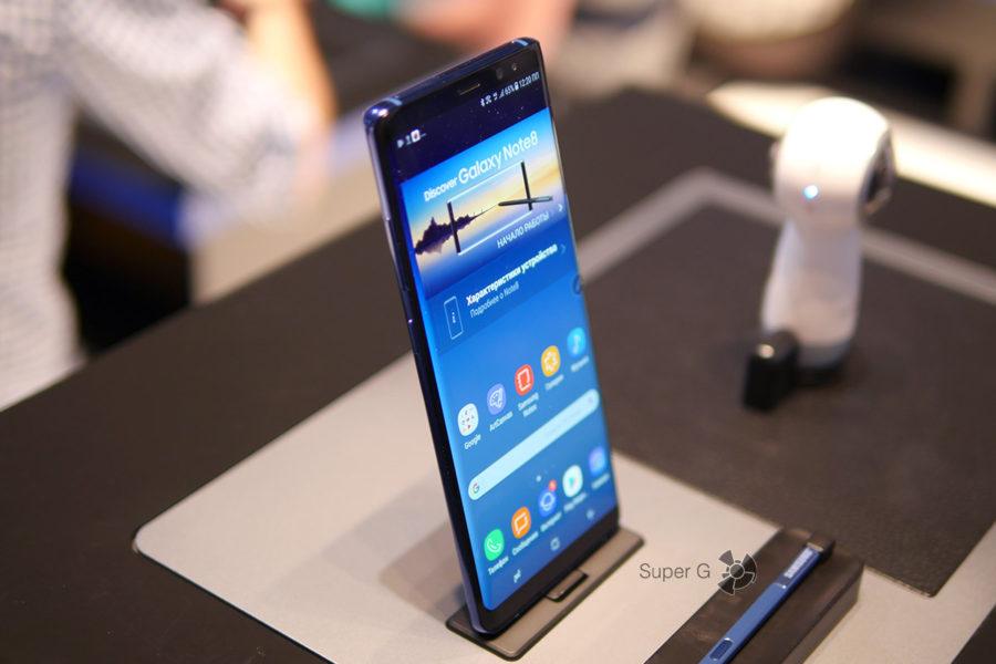 Купить Samsung Galaxy Note 8 - дата выхода
