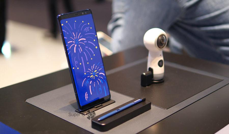Подробные и самые полные характеристики Samsung Galaxy Note 8