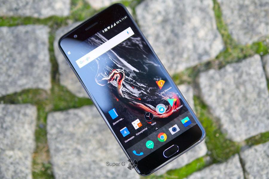 Дисплей OnePlus 5 шикарен