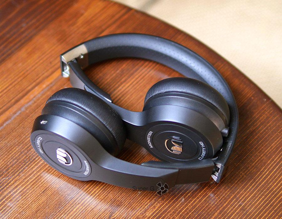 Monster Clarity HD On-Ear в сложенном состоянии